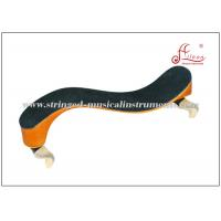Buy cheap Wooden String Instrument Accessories Black / orange Violin Shoulder Rest 4/4 - 1/2 Size product