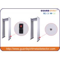 Buy cheap 6zone walk through metal detector arch way metal detector metal craft for airport railway station product