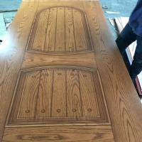 Buy cheap Different Styles HDF MDF Door Skin Melamine Faced For 0.1-0.2mm Tolerance product