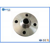 China Forged DN125A - 250A Weld Neck Pipe Flanges Galvanizing For Oil Pipe Connection on sale