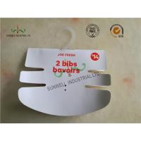 Buy cheap Baby Clothing Hang Tags 350G Paper Hanger Card With 2 Color Printing product
