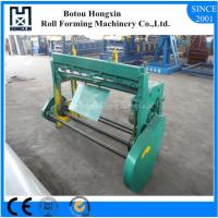 Buy cheap Electrical Roll Forming Machine Parts For Roofing Cutting Custom Color from wholesalers