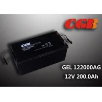 Buy cheap Reliable safe 200AH GEL Series 12V Lead Acid Battery Rechargeable No leaking product