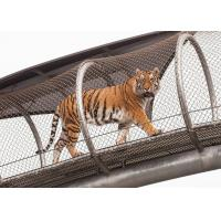 Buy cheap High - Strength Stainless Steel Wire Rope Mesh Fence For Animal Cages product