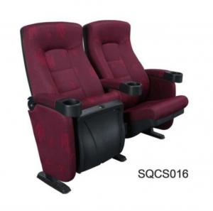 Buy cheap Comfortable Brown Fabric Chairs For Cinemas Lecture Halls Auditorium product