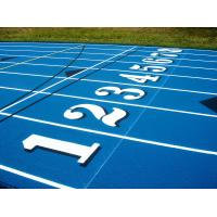 Buy cheap All Weather Sandwiched EPDM Running Track Flooring Sound Absorption product
