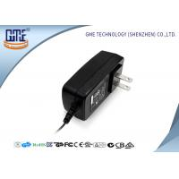 Buy cheap Universal AC DC Switching Power Adapter 24W Two US PIN With Indicator Light product