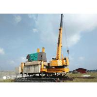 Buy cheap No Noise Concrete Hydraulic Static Pile Driver , Square Pile Driving Equipment With 1 Year Warranty For product