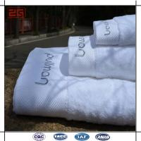 16S Single Loop Hotel Bath Towels With Jacquard / Emboidery Logo