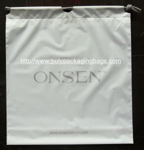 Buy cheap Белые полиэтиленовые пакеты Drawstring двойного слоя делают мешок водостотьким для Iphone product