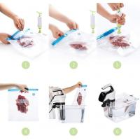Buy cheap Disposable Transparent Vacuum Sealer Food Storage Plastic Packaging Roll Bag for Food Sealed, Textured Food Freshness St product