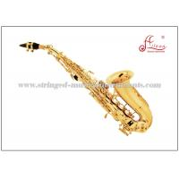 Buy cheap Bb Key Soprano Sax Saxophone Musical Instruments With Bakelite Head Material product