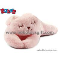 Buy cheap Soft Plush Pink Color Rabbit Stuffed Animal Toy Long Bunny Body Pillow product