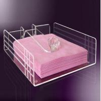 Buy cheap High Quality Exquisite Design Acrylic Serving Paper Tray product