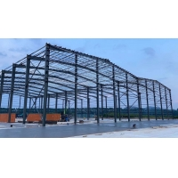Buy cheap H Beam D20 Steel Structure Warehouse With Office And Awning product