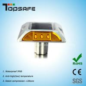 Buy cheap Solar Powered Aluminium Cat Eye Reflective Road Stud (TP-SR-4) product