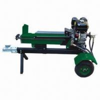 Buy cheap Horizontal Log Splitter with 6.5HP, 520mm Length and 6/8T Force product
