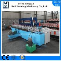 Buy cheap Galvanized Plate Shutter Door Roll Forming Machine 180mm Raw Material Width product