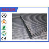 Buy cheap Waterproof Aluminum Decking Flooring with 6000 series T4 / T5 / T6 Anodized Aluminium Profile product