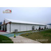 Buy cheap Simple PVC Marquee Tent With Plain PVC Sidewalls For 300 Guest Gathering product