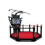 Buy cheap 9D Walking Virtual Reality Simulator Platform Arcade Game Machine HTC VIVE VR Treadmill product