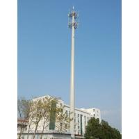 Buy cheap 25 M Mono Pole Tower , Monopole Cell Tower Custom Q235 / Q345 / Q420 product