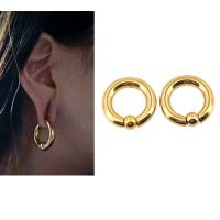 Buy cheap BODY PUNK Piercing Earring Ring Ear Stretcher Expander Weights BCR Gold Captive Ball Closure Nose Septum Ring 2.5mm 4mm product
