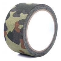 China Multi design camouflage cloth adhesive duct tape for outdoors,Camouflage Casting Butyl Tape,Camo Outdoor Camouflage Tape on sale