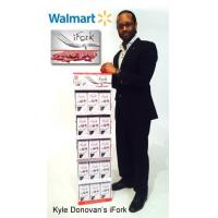 Buy cheap Corrugated Card 5 Shelf Paper Display Stand Retail POS Displays for iFork from wholesalers