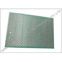 Buy cheap SS304 Shale Shaker Parts For FSI Mud Cleaner Tensile Bolting Wire Cloth from wholesalers