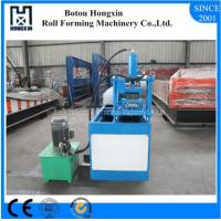 Buy cheap Hydraulic Cutting Shutter Door Roll Forming Machine PLC Control System product