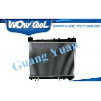 Quality High Efficiency Toyota Aluminum Radiator For 2014 HIACE / QUANTUM Core Thickness for sale