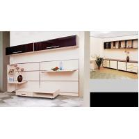 Buy cheap Eco-Friendly MDF DIY Closet, Suspended Type Bedroom Furniture Wardrobe With Sliding Door product