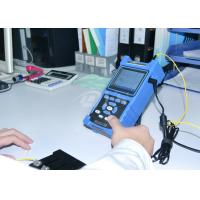 Buy cheap Shock / Dust Proof USB RS-232 Fiber Optic Test Equipment Palm OTDR Tester product