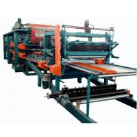 Buy cheap Double Belt PU Sandwich Panel Making Machine Automatic For Roof Wall Panel product