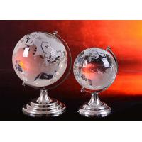 Buy cheap Home Crystal Decoration Crafts / Globe Ball With Sand Blasting World Map product