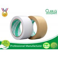 Quality LOGO Print Kraft Paper Tape Masking Use And Kraft Paper Washi Paper Material for sale
