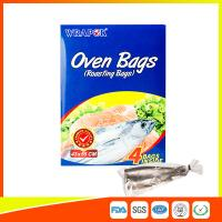 Buy cheap PET Oven Cooking Bags Heat Resistant For Fish / Meat / Turkey Eco Friendly product