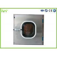 Buy cheap 304 Stainless Steel Pass Through Box ISO Class 5 Clean Grade In Laboratory product