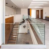 Buy cheap High quality U Channel Glass Railing, Tempered Glass Railing for Stair product