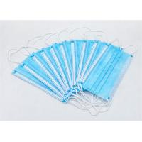 Buy cheap School Disposable Non Woven Antiviral Face Mask Melt Blown Fabric Protective product