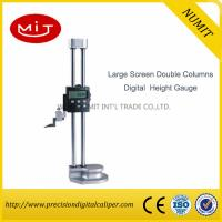 Buy cheap Large Screen Double Columns Digital Height Gauges with Fine Adjustment product