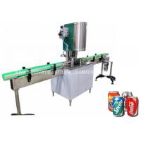 Buy cheap Automatic Alumunim Can Seaming Machine, Tin Can Seamer, PET Can Sealing from wholesalers