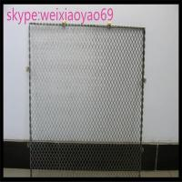 Buy cheap 304 diamond hole  Stainless Steel Expanded Metal/  expanded wire mesh for decorate/metal mesh product