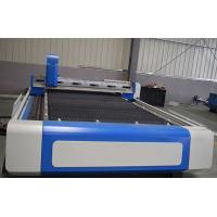China Cypcut Controller Fixed Table Laser Cutting Equipment , IPG Maxphotonics Cnc Metal Laser Cutter on sale