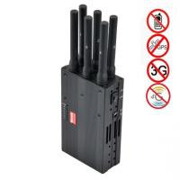 Buy cheap Best Buy Cell Phone Jammer Portable 6 Bands Switch Control Signal Jammer Built-in Battery Cell Jammer Phone Jammer product
