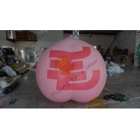 Buy cheap 2m High Peach Fruit Shaped Balloons For Kids Party Birthday CE UL from wholesalers