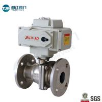 Buy cheap ASME B16.34 Stainless Ball Valve of Petrol Chemical Valve with Motorized Actuator product