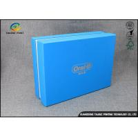 Buy cheap Luxury Cardboard Apparel Packaging Box With Logo Printed / Shirt Packaging Boxes product