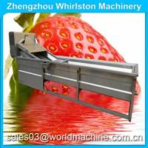 Buy cheap apple washing machine/garlic cleaning machine/fruit and vegetable cleaning machine water jet loom product